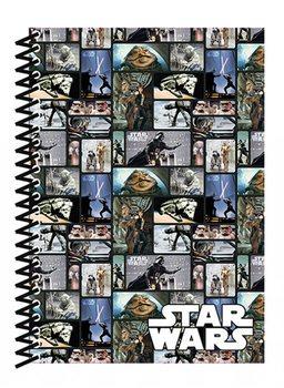 Star Wars - Blocks A5 Soft Cover Notebook Psací potřeby