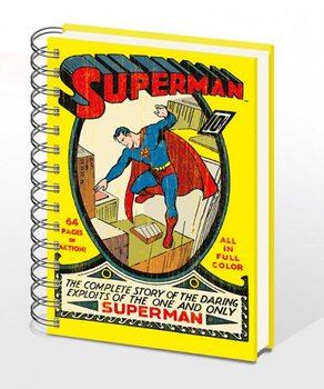 SUPERMAN NO.1 - zápisník A4  Psací potřeby
