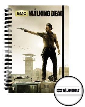 The Walking Dead - Prison A5 Notebook Psací potřeby