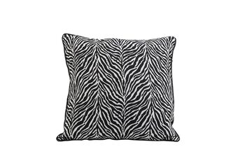 Sengelinned Pude Zebra - Black-White