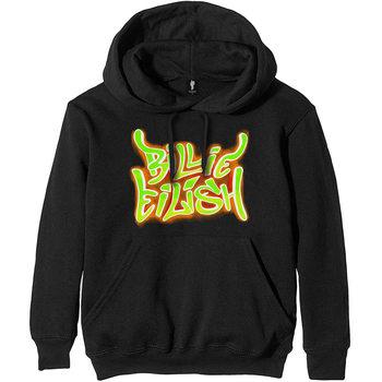 Billie Eilish - Airbrush Flames Pulover