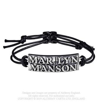Marilyn Manson - Logo Pulseras de silicona