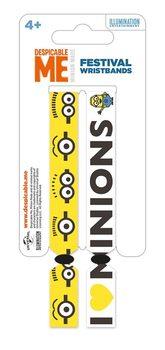Minions (Gru: Mi villano favorito) Pulseras de silicona
