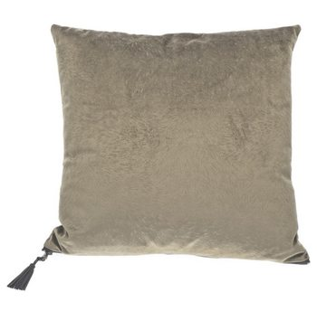 Pute Pillow Fur Grey-Green