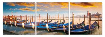 Quadro  Boats in the bay