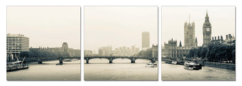 Quadro London - Thames, Westminster Palace