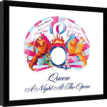 Πλαισιωμένη αφίσα Queen - A Night At The Opera