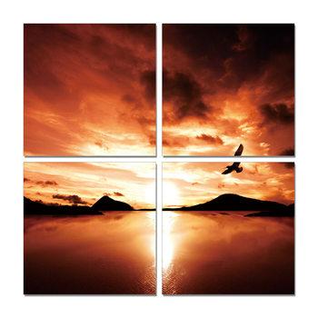 Radiant sunrise Moderne billede