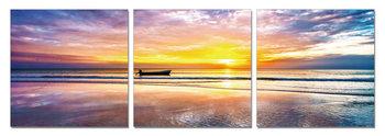 Radiant sunrise Modern tavla