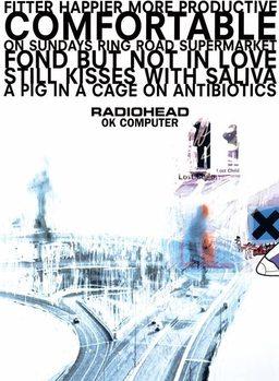 Radiohead of Computer - плакат (poster)