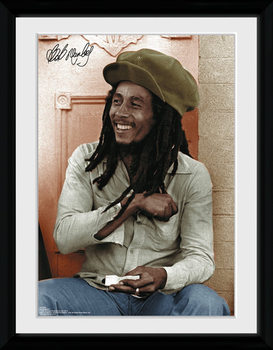 Bob Marley - Rolling rám s plexisklem