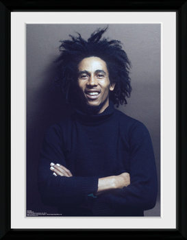 Bob Marley - Wall rám s plexisklem
