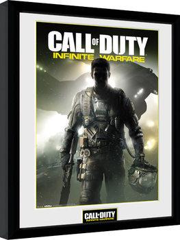 Call of Duty Infinite Warfare - Key Art zarámovaný plakát