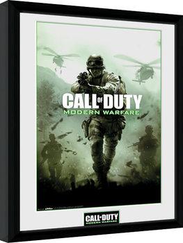 Call of Duty Modern Warfare - Key Art zarámovaný plakát