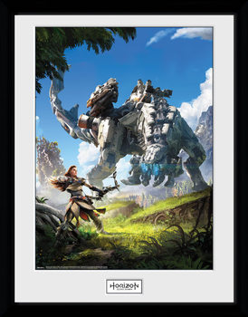 Horizon Zero Dawn - Key Art rám s plexisklem