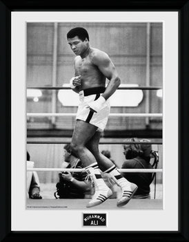 Muhammad Ali – Training 30x40cm Collector Print rám s plexisklem