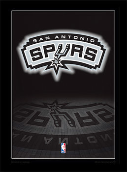 NBA - San Antonio Spurs Logo rám s plexisklem