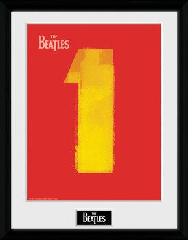 The Beatles - No1 Red rám s plexisklem