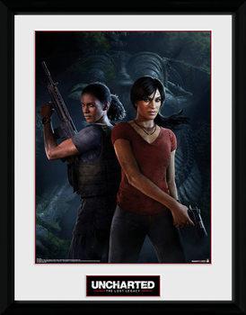 Uncharted: The Lost Legacy - Cover zarámovaný plakát
