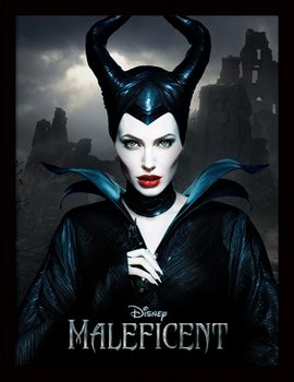 Zloba: Královna černé magie - Dark rám s plexisklem