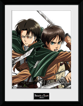 Attack On Titan - Levi rám s plexisklom