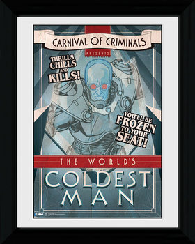 Batman Comic - Circus Coldest Man rám s plexisklom