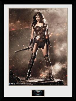 Batman Vs Superman - Wonder Woman Zarámovaný plagát