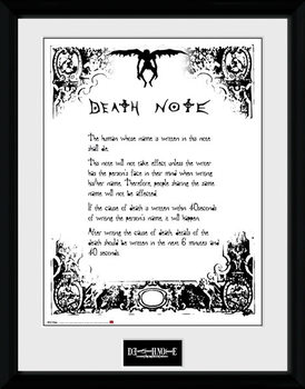 Death Note - Death Note rám s plexisklom