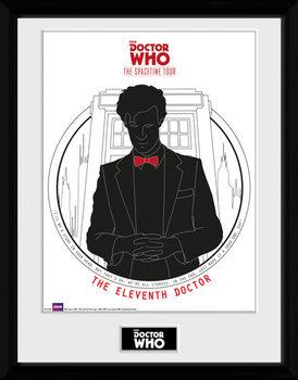 Doctor Who - Spacetime Tour 11th Doctor Zarámovaný plagát