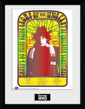 Doctor Who - Spacetime Tour 4th Doctor Zarámovaný plagát