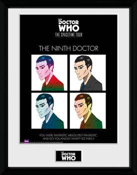 Doctor Who - Spacetime Tour 9th Doctor Zarámovaný plagát