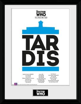 Doctor Who - Spacetime Tour Tardis Zarámovaný plagát