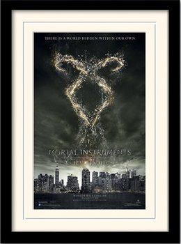 NÁSTROJE SMRTEĽNÍKOV : MESTO Z KOSTÍ - rune  rám s plexisklom