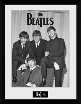 The Beatles - Chair rám s plexisklom