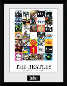 The Beatles - Through The Years rám s plexisklom