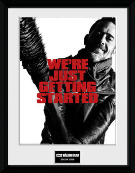The Walking Dead - Season 7 Zarámovaný plagát