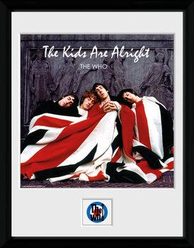 The Who - The Kids ae Alright rám s plexisklom