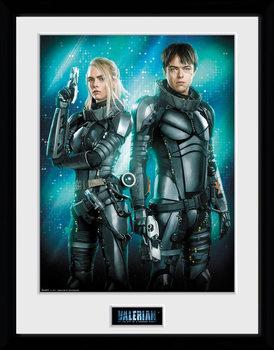Valerian a mesto tisícich planét - Duo Zarámovaný plagát