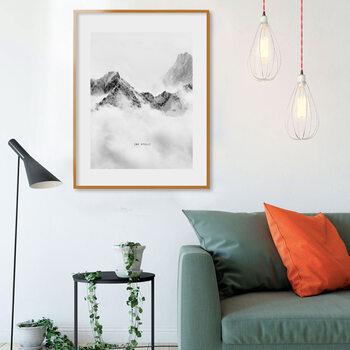 GB EYE Cadru pentru poster 61x91,5 cm Portocaliu - Plastic