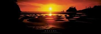 Dreams rámovaný plakát