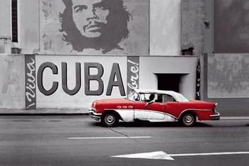 Havana - cuba rámovaný plakát