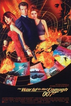 J. B. 007 - the world is not enough rámovaný plakát