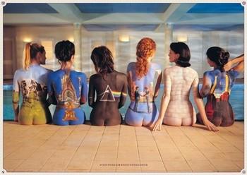 Pink Floyd - back catalogue rámovaný plakát