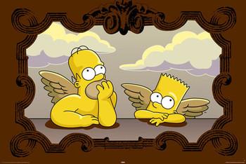 Simpsons - raphael rámovaný plakát