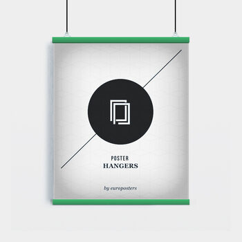 EBILAB Posterhengere - 2 pk. Length: 61 cm  green