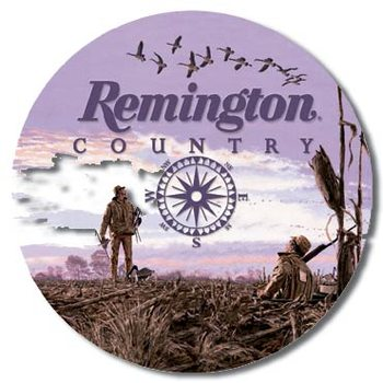 REMINGTON COUNTRY Metalen Wandplaat