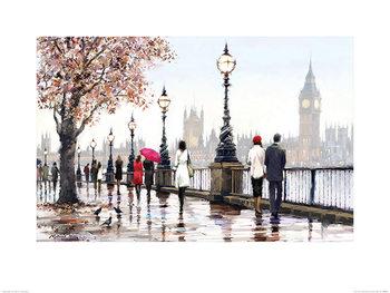 Richard Macneil - Thames View Festmény reprodukció