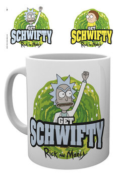 Tasse Rick And Morty - Get Schwifty