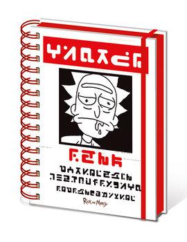 Σημειωματάριο Rick and Morty - Wanted