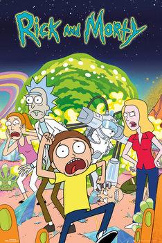 Αφίσα  Rick & Morty - Group